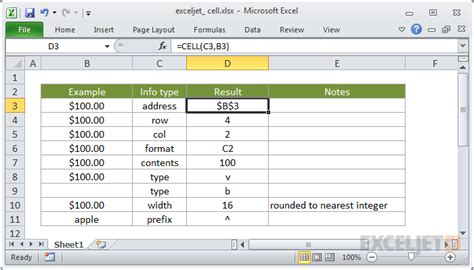 create a calendar in excel cell how to use the excel cell function exceljet