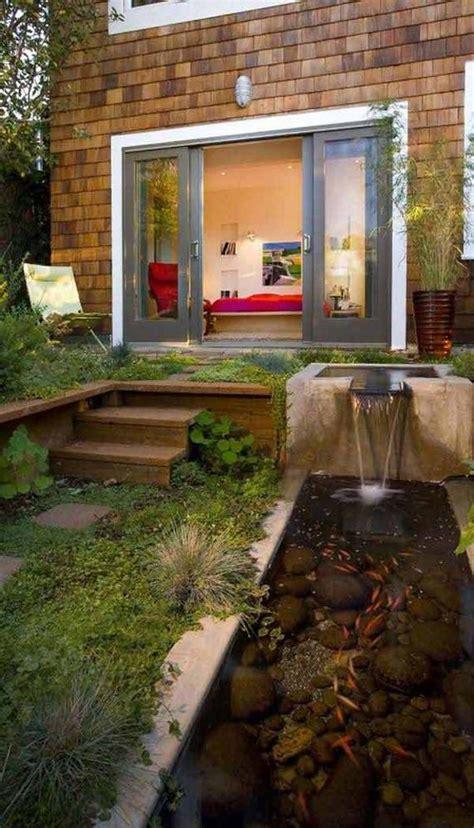 amazing small backyards amazing small garden or backyard aquarium ideas