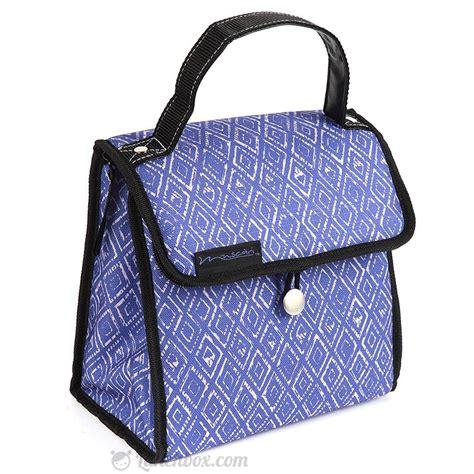 Blue Insulated Lunch Tote Lunchbox Com Template Insulated Lunch Tote