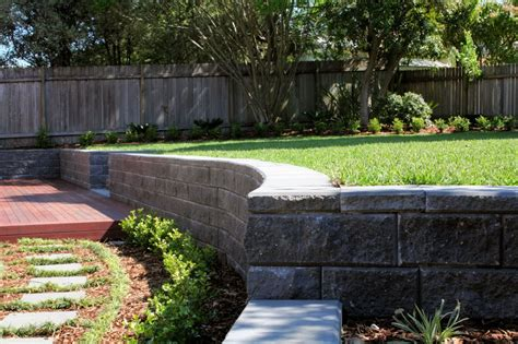 landscaping sloped backyard landscaping ideas for downward sloping backyard