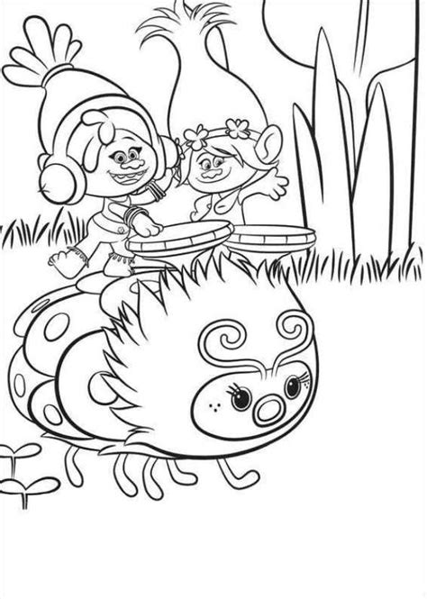 coloring page princess poppy princess poppy trolls pages coloring pages