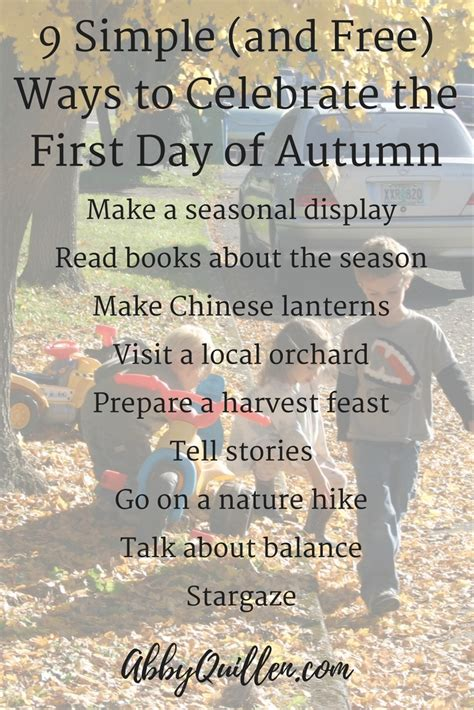 7 Ways To Celebrate The Start Of by Celebrate The Day Of Autumn