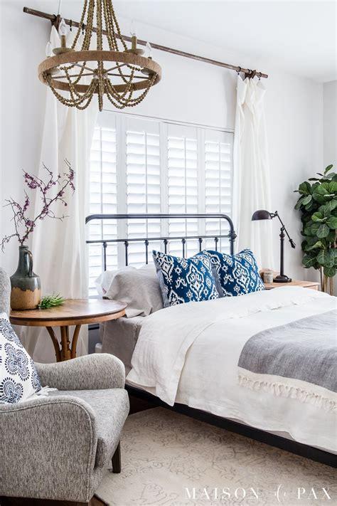 simple master bedroom decorating ideas  spring maison de pax