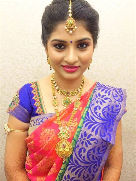 bridal hairstyles saree south indian bridal hairstyles for engagement