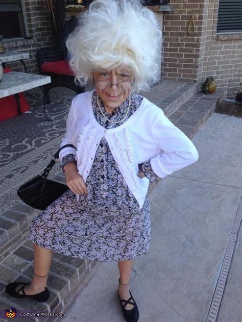 bad grandma girls costume photo