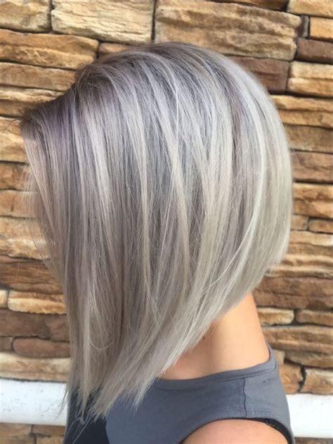 frisur graue haare mittellang friseur