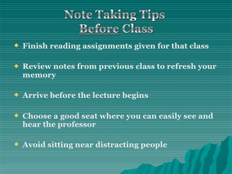 taking notes 5 college success tips jerzs literacy weblog note taking