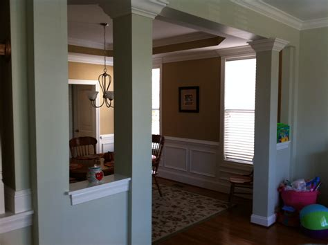 half wall with columns home design marvelous half wall room divider images or