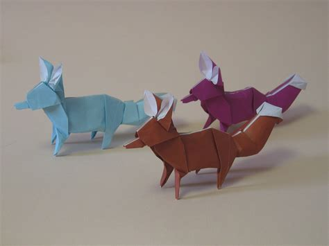 Origami Creatures - free coloring pages zing origami animals beasts and