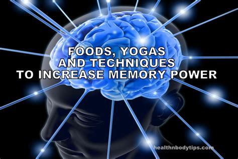 12 Nutrition Tips For Increasing Brain Power by How To Increase Memory Power Foods Yogas And Techniques