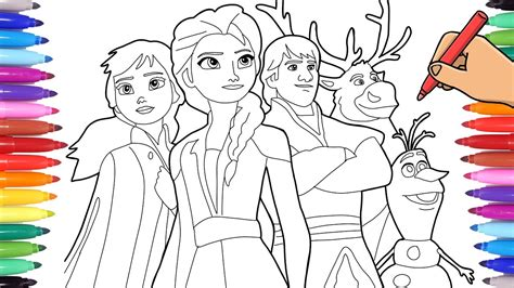 disney frozen  coloring pages drawing elsa anna