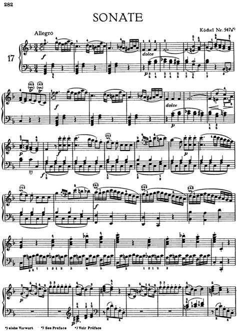 Rondo Allegro allegro and rondo for piano k 547a free sheet by