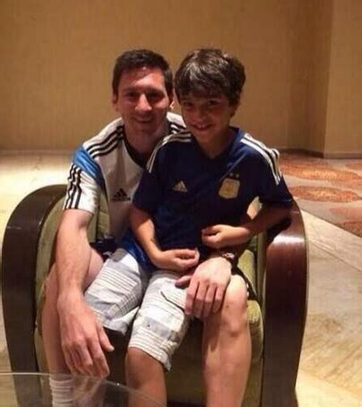 Maison De Lionel Messi Interieur by Lionel Messi Rencontre Le Gar 231 On Qu Il A Snob 233