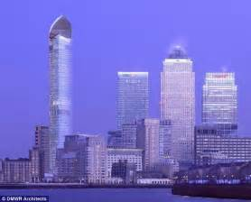 Design Homes Online hertsmere tower in london s docklands set to be