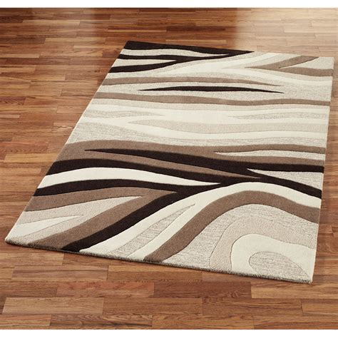 Cream And Brown Rug Neutral Cream Brown Flat Weave Rugs Modern Rugs Cheap