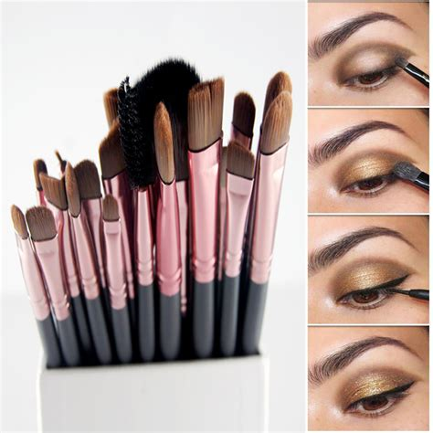 aliexpress makeup 20pcs paintbrushes of makeup brushes set powder foundation