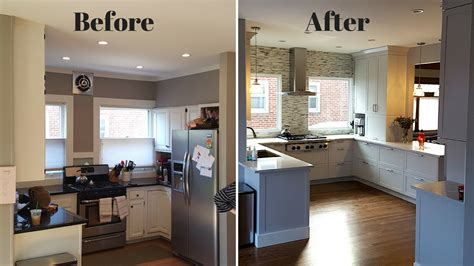 kitchen renovation before and after trendyexaminer