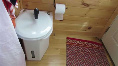 Using The C Head Composting Toilet In A Tiny House Youtube Best Composting Toilet For Tiny House