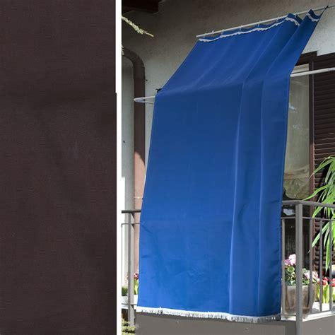 tende poliestere tenda da sole marrone 145 x 300 cm 100 poliestere
