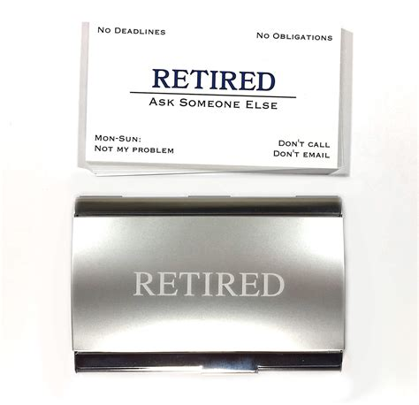 Retired Business Cards Templates by Retired Business Cards Images Business Card Template