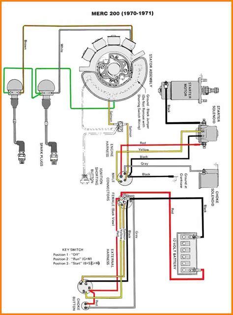 Mercury Outboard Wiring Diagram Gallery