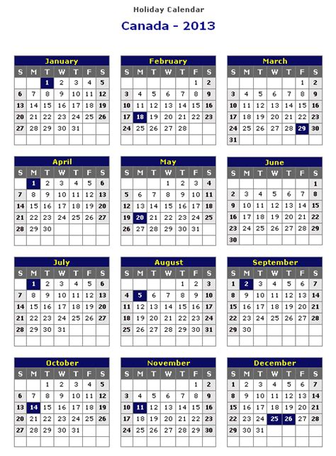 printable calendars canada 2014 south african yearly calendars with holidays autos post