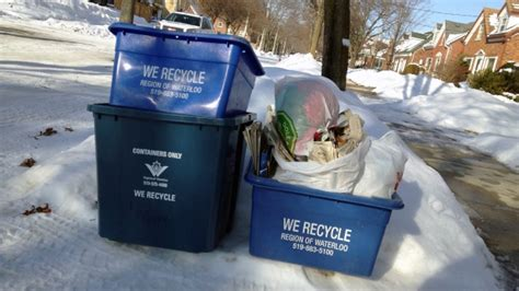 waterloo region waste changed for holidays ctv