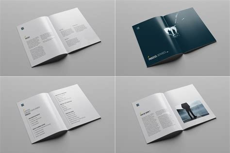 free company profile layout design company profile print template
