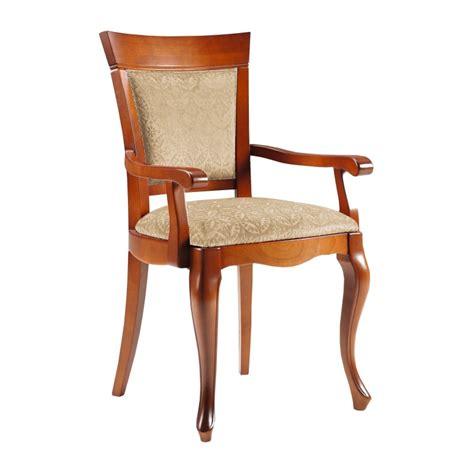 sillas clasicas comedor silla de comedor cl 225 sica con reposabrazos color cerezo