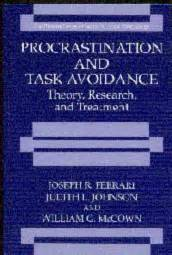 Joseph R Ferrari by Depaul Psychology Faculty