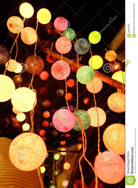 Cotton Ball Light Stock Image Image Of Light Thread Cotton Lights