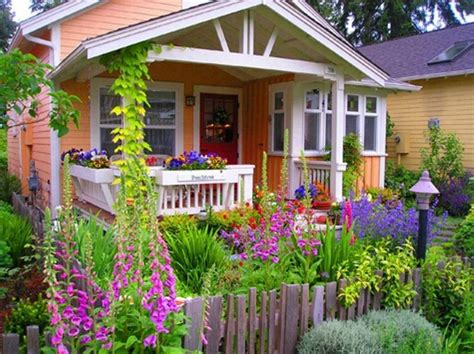 the flowers wild dream houses from movies cute little cottage with a front garden houses i like