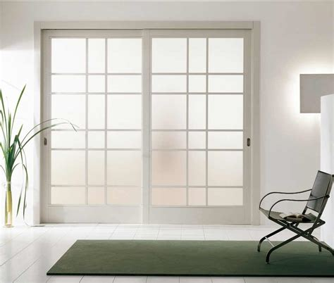 Interior Sliding Glass Doors Room Dividers White Room Divider To Beautify Home Interior