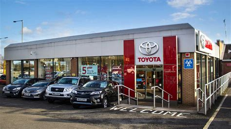 toyota garage listers toyota uk used toyota dealers autocars
