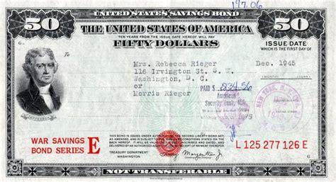 where to get savings bonds united states of america 50 wwii savings bond series e 1945