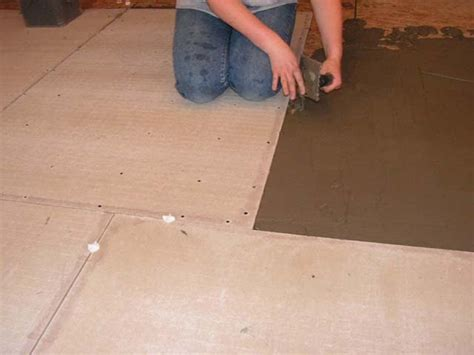 how to install hardiebacker board how to matthew install backer board before laying tile