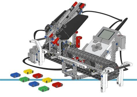 tutorial for lego mindstorm nxt color sorter instructions lego and lego mindstorm