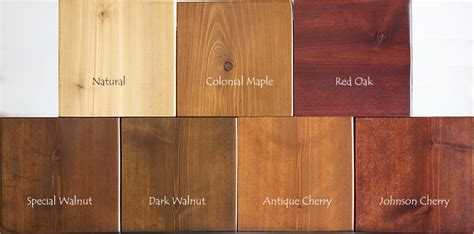 cedar stain colors wood door finishing at nicks building supply