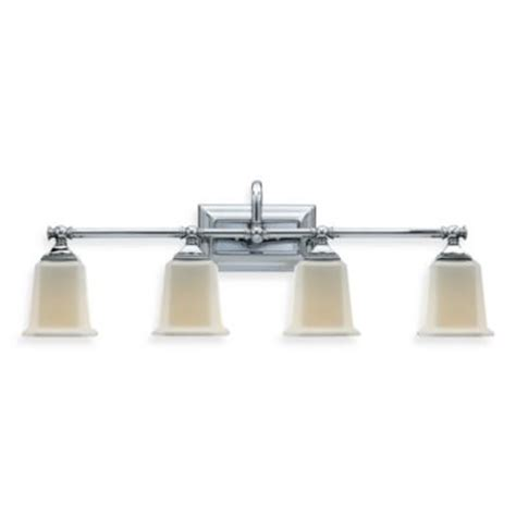 bathroom light fixtures chrome buy chrome lighting fixtures from bed bath beyond