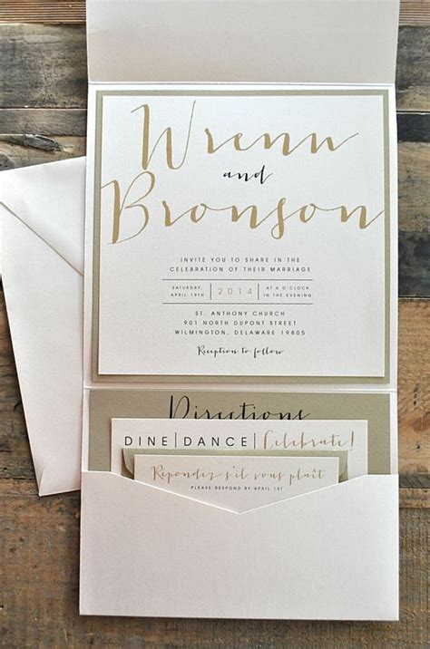 Exclusive Wedding Invitations by Exclusive Wedding Invitations With Pockets Theruntime