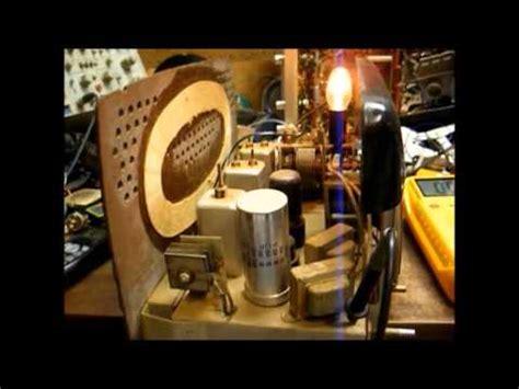 selenium rectifier replacement diode repair of a circa 49 silvertone am fm radio selenium rectifier replacement pt 1