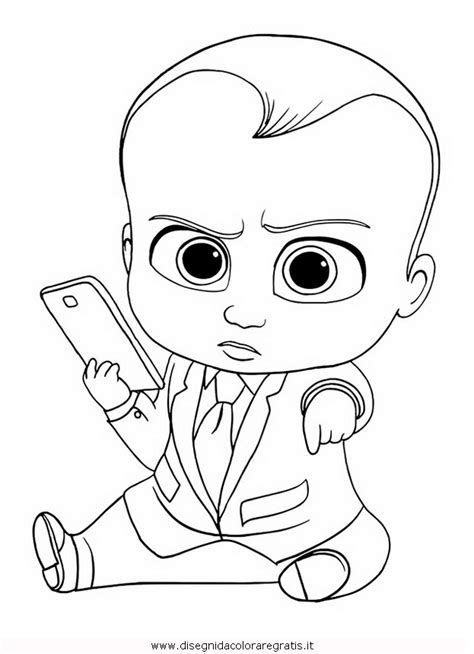boss baby 2 like a boss president coloring pages printable disegno baby boss 16 personaggio cartone animato da colorare