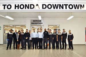 Team Honda Service The Tailored Approach