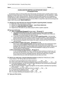 Exles Of Thesis Statements For Expository Essays expository thesis statement formula exle of narrative essay outline