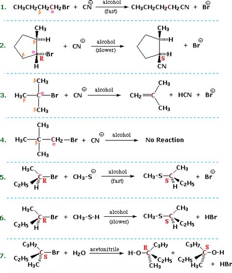 Ethyl Vinyl Ether Sigma - substitution and elimination reactions of alkyl halides