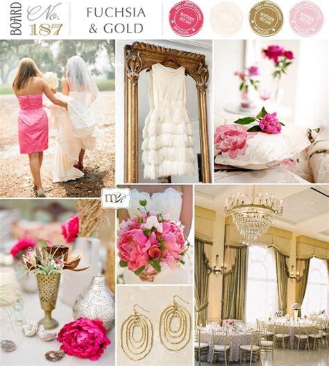 pink and gold wedding motif pink wedding theme