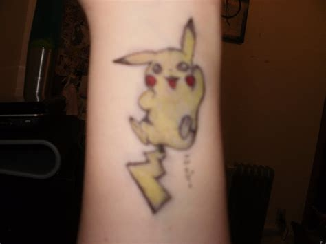 pikachu tattoo by hppyunbrthday on deviantart