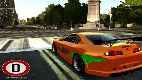 gta fast and furious mod game free download gta 4 fast and furious 1000hp toyota supra sound
