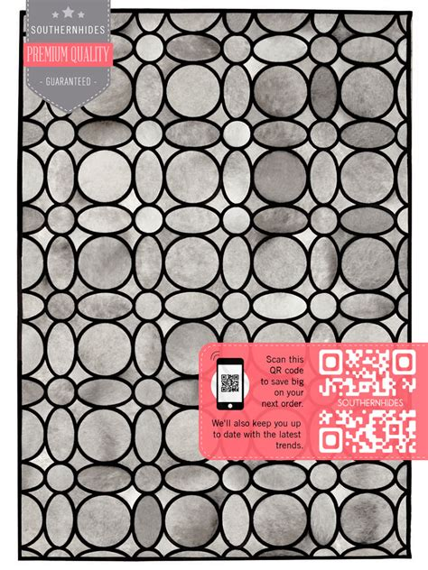 Retro style cowhide rug retro pattern area rug