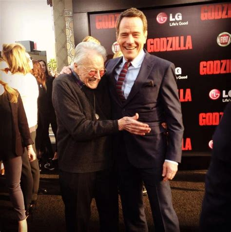 bryan cranston dad movie bryan cranston and his dad at the premiere godzilla